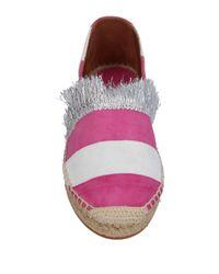 L'f Shoes Purple Espadrilles