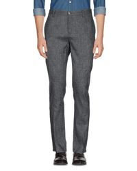 John Varvatos - Gray Casual Trouser for Men - Lyst