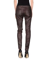 Pennyblack Brown Casual Trouser