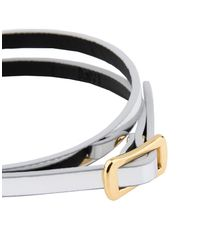 McQ Alexander McQueen - Metallic Bracelet - Lyst