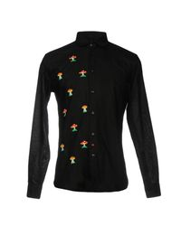 LC23 Black Shirt for men
