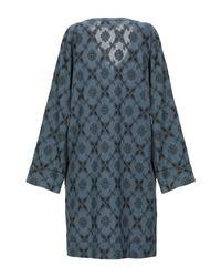 Swildens Blue Short Dress