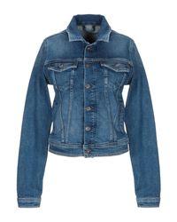 Pepe Jeans Blue Jeansjacke/-mantel