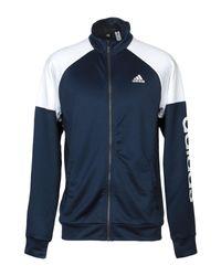 Felpa di Adidas in Blue da Uomo