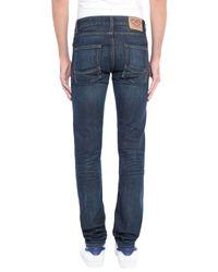 Tommy Hilfiger Blue Denim Trousers for men