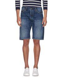 Carhartt Jeansbermudashorts in Blue für Herren