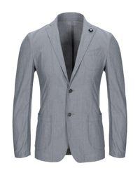Lardini Gray Blazer for men