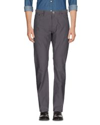 Burberry Gray Casual Pants for men
