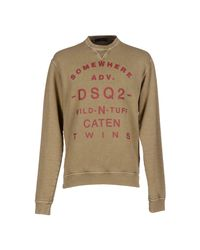 DSquared² Natural Sweatshirt for men