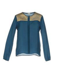 INTROPIA - Blue Shirt - Lyst