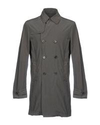 Aspesi Gray Overcoat for men