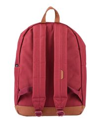 Herschel Supply Co. Red Backpacks & Fanny Packs
