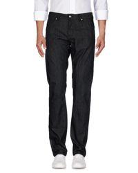 Pantalon en jean Karl Lagerfeld pour homme en coloris Black