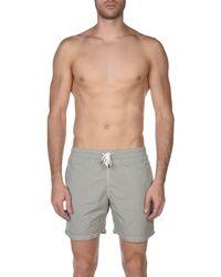 Hartford Gray Swim Trunks for men