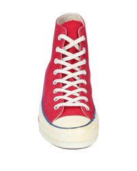 Sneakers abotinadas Converse de color Red