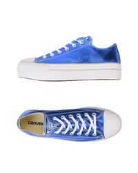 Converse Blue Low-tops & Sneakers