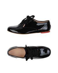 Katie Grand Loves Hogan Black Lace-up Shoe