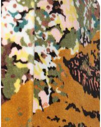 Jupe au genou Giamba en coloris Yellow