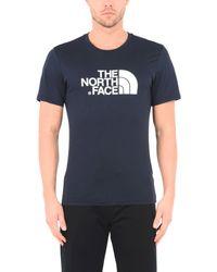 The North Face T-shirts in Blue für Herren