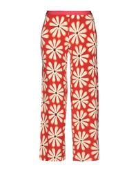 Pantalon Siyu en coloris Red