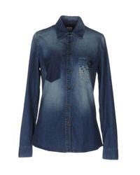 Pinko Blue Denim Shirt