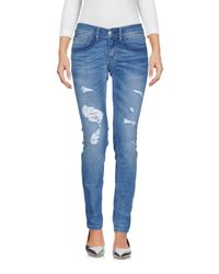 Pantalones vaqueros Frankie Morello de color Blue