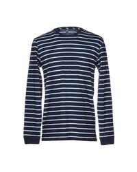 Edwin T-shirts in Blue für Herren
