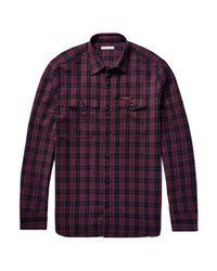 Burberry Purple Shirt for men