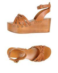 Étoile Isabel Marant Brown Sandals