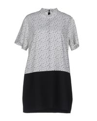 French Trotters Black Short Dress
