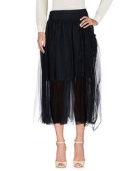 Simone Rocha - Black 3/4 Length Skirt - Lyst