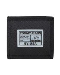 Portafogli di Tommy Hilfiger in Black da Uomo