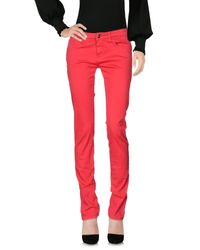 Blugirl Jeans Red Casual Trouser