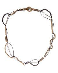 Saint Laurent Black Necklace for men