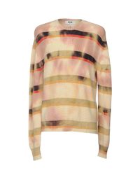MSGM Natural Sweaters