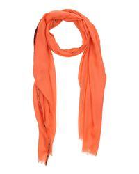 Ballantyne - Orange Oblong Scarf - Lyst