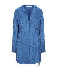 Off-White c/o Virgil Abloh Blue Kurzes Kleid
