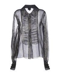 Chemise Anna Sui en coloris Gray