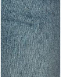 Saint Laurent Blue Denim Trousers for men
