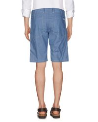 Roy Rogers Blue Bermuda Shorts for men