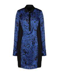 Versace Jeans Blue Kurzes Kleid