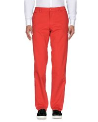 Moschino - Red Casual Trouser for Men - Lyst