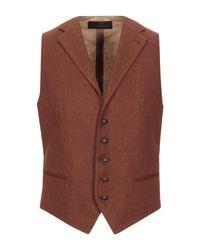 Tagliatore Multicolor Vest for men