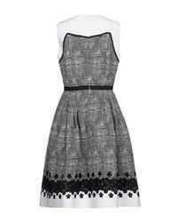 Andrew Gn Black Knee-length Dress