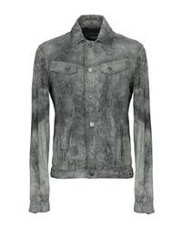 Tigha Gray Jacket for men