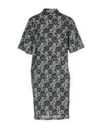 Cheap Monday Gray Short Dresses