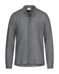 Emporio Armani Gray Shirt for men