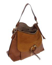 See By Chloé - Brown Handbag - Lyst