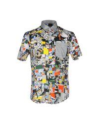 Basso & Brooke Gray Shirt for men