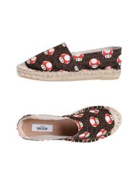 Espadrilles Moschino en coloris Brown